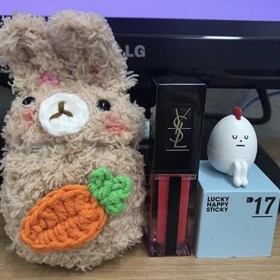 에어팟 양털 뽀글이 토끼 곰돌이 (4design) ac-9025c_(1011028)