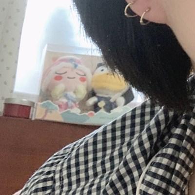 14k daily onetouch ring piercing (14K 골드)