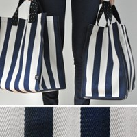 tall container bag navy
