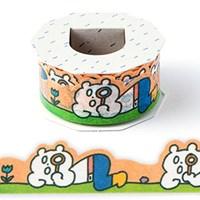 [AIUEO] Masking tape katanuki - Exploring Bear