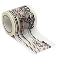 Decolfa 인테리어 마스킹 테이프 50mm - 프레임 / 골드 (M3602)