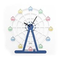 [로먼트] 대관람차 무소음벽시계 / DC-017BW 디자인벽시계