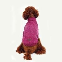 Knit Turtleneck Sweater_ Violet Pink