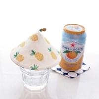 {Cup Cover}프루츠에디션_i'm pineapple(컵커버,컵덮개,컵뚜껑)