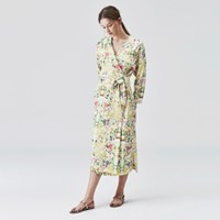 [sweet180] TROPICAL WRAP DRESS (3colors)