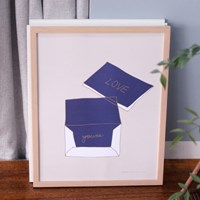 POSTER 인조이드로잉 series_card&envelope