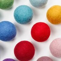 5.5cm 펠트볼-15colors_(428946)