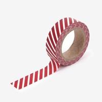 Masking tape single - 74 Oblique line : red