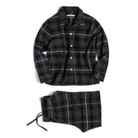 (W) Marilyn PJ Set Flannel Hunting Stewart