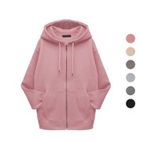 PERSONA BASIC WARM HOOD ZIP-UP Z201 (woman)