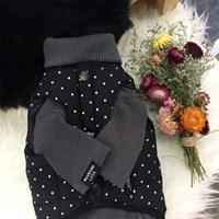 padding-dote black