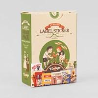 Label Sticker Pack-25 Vintage2