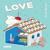 과자전 2017 Love & Thanks 엽서세트
