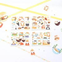 마넷 컷팅스티커 sampler - 시바지-