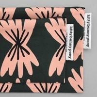 farfalle pouch by Jennifer Bouron