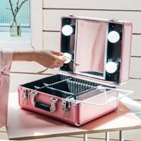 [라쏨] 리퍼브 LED 조명 미니화장대 마이러블리데이 핑크