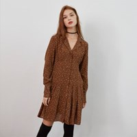 PLEATS POINT DOT ONEPIECE