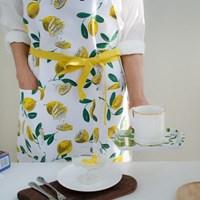 [울스터위버스] 레몬(Lemon) 면 앞치마