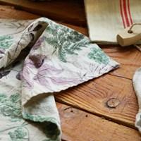 클로브 린넨 키친크로스 : Clove linen kitchen cloth