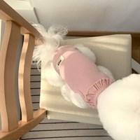 [T.마카롱프릴민소매]Macaron frill sleeveless T_Pink