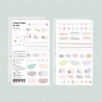 O-ssum sticker for Note 6종