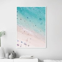 비치피플 바다 풍경 액자 인테리어 그림 포스터