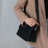 (달거울 증정/탄생석) Two way Bag (S,M) - Black
