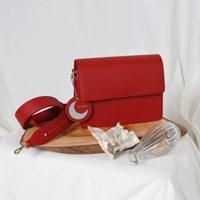 (달거울 증정/탄생석) Two way Bag (S,M) - Red