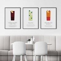 칵테일 레시피 인테리어 포스터 25종