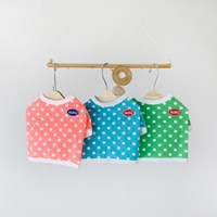 러브 도트 티셔츠 - 3color