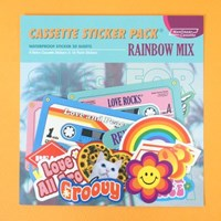 Cassette Sticker Pack_Rainbow Mix