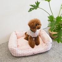 유앤아이 하우스 2color 진드기 방지 애견쿠션
