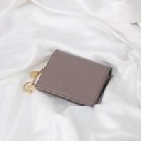 [별자리키링 증정] Minette Half Wallet - Purple