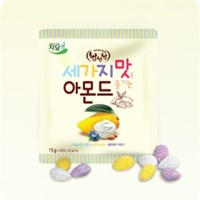 자담선 냠냠냠 세가지 맛을 즐기는 아몬드 450g(15g x 30ea)