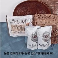 눈꽃 김부각 세트(김부각1개+김스낵2개)