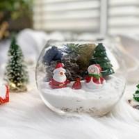 미세먼지잡는 나만의 테라리움 DIY세트-크리스마스 테마
