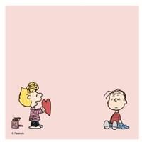 [Peanuts] 메모패드_러블리ver (4종)