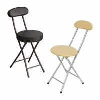 [홈어롱] 다용도 간이 접이식 등받이 의자 2종_(1477787)