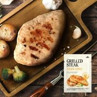 [꼬꼬빌] 닭가슴살 스테이크 구운갈릭 100g x 1팩