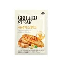 [꼬꼬빌] 닭가슴살 스테이크 구운갈릭 100g x 5팩