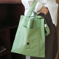 Green Pocket two way bag