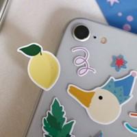 블라블라스티커-곰,소녀,거위 그리고 사과