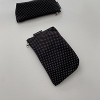 잔도트 삼각 파우치(Dot triangle pouch)