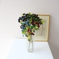 미니 베리열매 조화 인테리어 조화장식(4color)