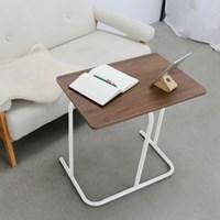 홈어롱 히든 소파 테이블 600 화이트_(1540745)