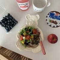 [5가지색상] 곰돌이그릇 - 접시