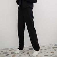 [바이바이섭] T04 WOOL PANTS BLACK