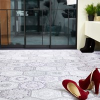 베란다 주방 거실 셀프 인테리어 패턴 리브온 코일매트 (cm단위구매)