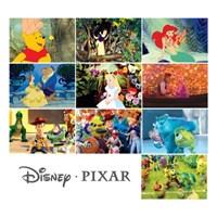디즈니 픽사 홀로그램 엽서 1~10(낱장)