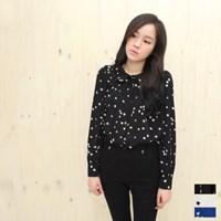 [달콤한 블라우스]Lady Star Silky Shirt Blouse